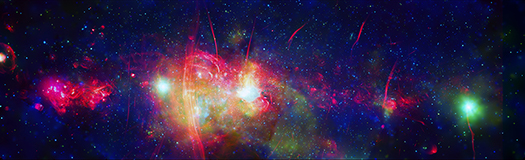 X-ray & Radio Image of the Milky Way's Galactic Center